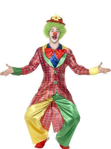 La Circus Deluxe Clown Fancy Dress Costume Thumbnail 1
