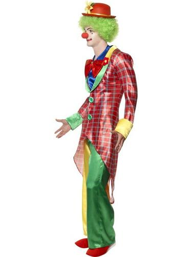 La Circus Deluxe Clown Fancy Dress Costume Thumbnail 3