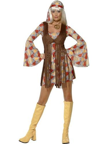 1960s Groovy Baby Fancy Dress Costume Thumbnail 1