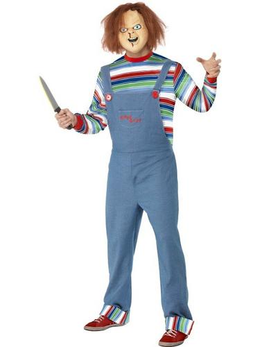 Male Chucky Fancy Dress Costume Thumbnail 1