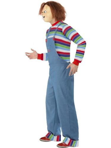 Male Chucky Fancy Dress Costume Thumbnail 3