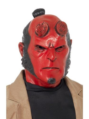 Hellboy Fancy Dress Mask Thumbnail 1
