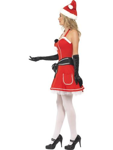 Pom Pom Santa Fancy Dress Costume Thumbnail 3