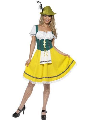 Female Oktoberfest Fancy Dress Costume Thumbnail 1