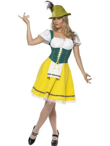 Female Oktoberfest Fancy Dress Costume Thumbnail 2