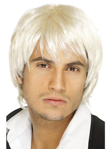 Boy Band Wig Blonde Thumbnail 1