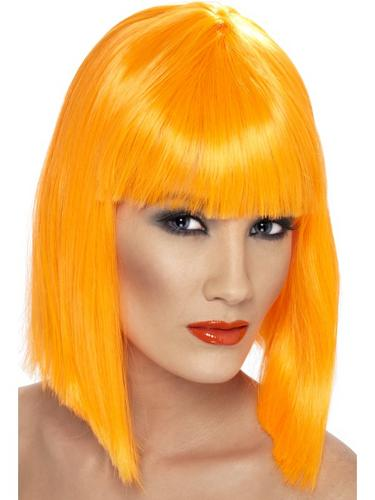 Glam Wig Orange Thumbnail 1