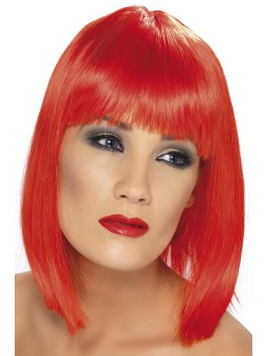 Glam Wig Red Thumbnail 1