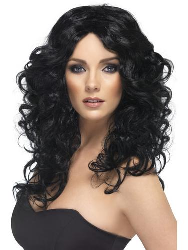 Glamour Wig Black Thumbnail 1