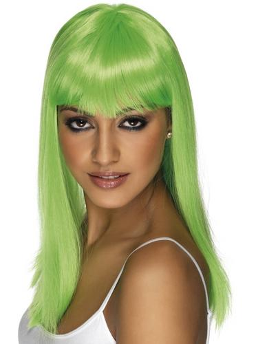 Glamourama Wig Green Thumbnail 1
