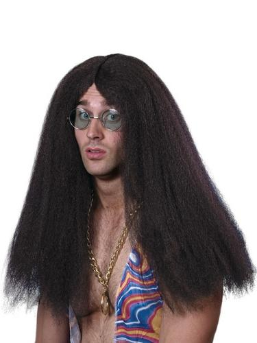 Hippy wig Brown Thumbnail 2