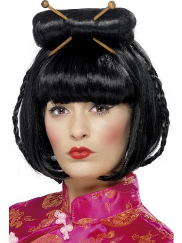 Oriental Lady Wig Thumbnail 1