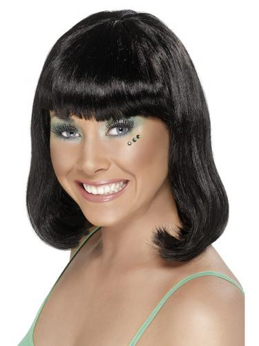 Party Wig Black Thumbnail 1