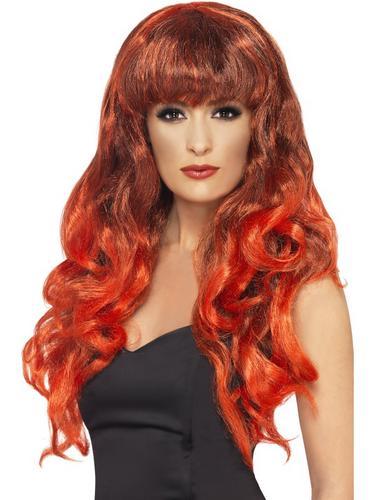 Siren Wig Red