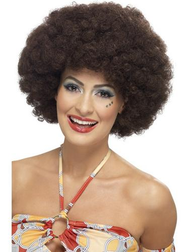 70's Curly Afro Wig Thumbnail 1