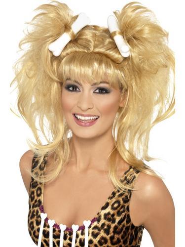 Crazy Cavegirl Bunches Wig Thumbnail 1