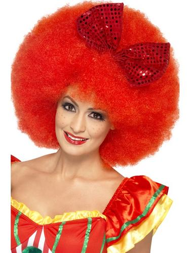 Mega Afro Clown Wig Thumbnail 1