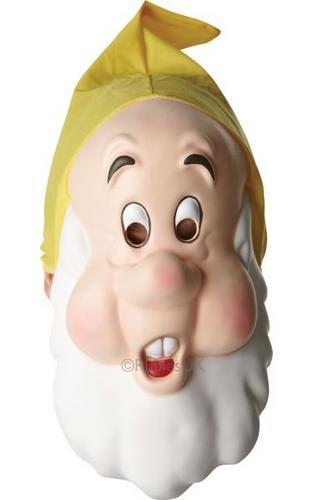 Snow White Sneezy Fancy Dress Mask Thumbnail 1