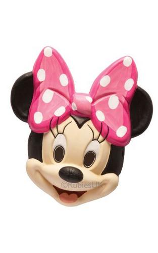 Kids Minnie Mouse Fancy Dress Mask Thumbnail 1