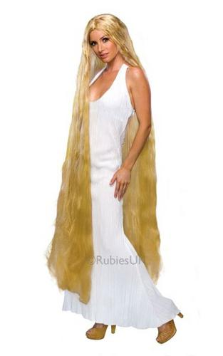60inch Lady Godiva Fancy Dress Wig Thumbnail 1