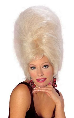 BeeHive Fancy Dress Wig Blonde Thumbnail 1