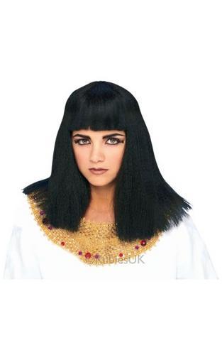 Cleopatra Fancy Dress Wig Thumbnail 1