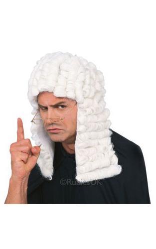 Judge Fancy Dress Wig Thumbnail 1