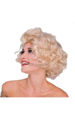 Hollywood Starlet Fancy Dress Wig Thumbnail 1
