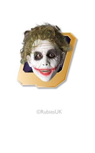 The Joker Adult Fancy Dress Wig Thumbnail 1