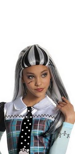 Kids Frankie Stein Fancy Dress Wig Thumbnail 1