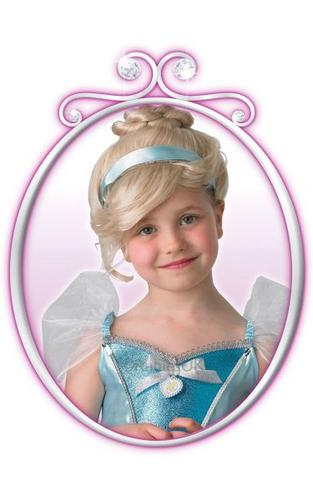 Childs Cinderella Wig Thumbnail 1