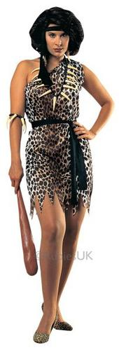 Cavewoman Fancy Dress Costume Thumbnail 1