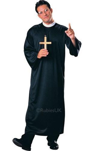 Priest Fancy Dress Costume Thumbnail 1