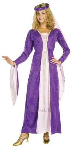 Renaissance Princess Fancy Dress Costume Thumbnail 1