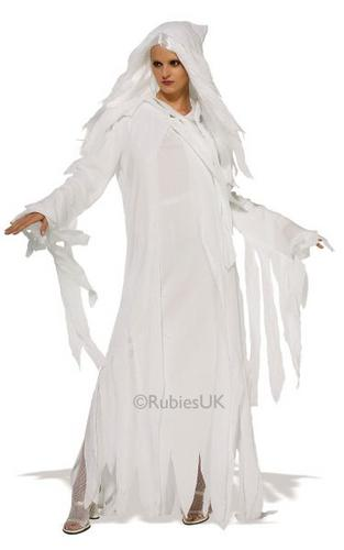 Ghostly Spirit Fancy Dress Costume Thumbnail 1