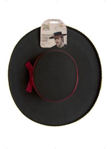 Spanish Style Fancy Dress Hat Thumbnail 2