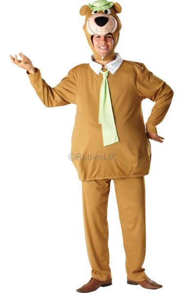 Yogi Bear Fancy Dress Costume Thumbnail 1