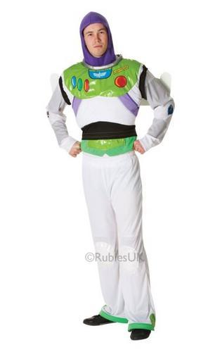 Buzz Lightyear Fancy Dress Costume Thumbnail 1