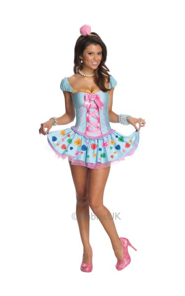 Sweetheart Fancy Dress Costume Thumbnail 1