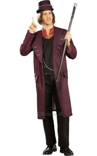 Willy wonka Fancy Dress Costume Thumbnail 1