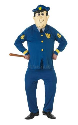 Officer Dibble Fancy Dress Costume (Top Cat) Thumbnail 1