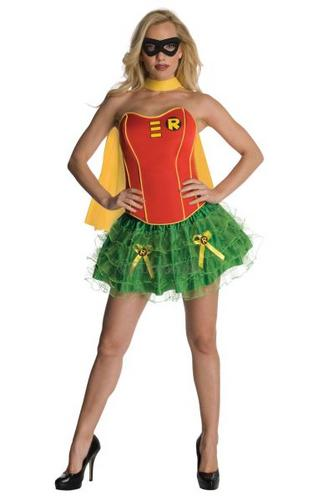 Robin Corset Costume Extra Small Thumbnail 1