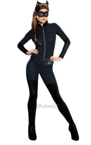 Catwoman Fancy Dress Costume Thumbnail 1