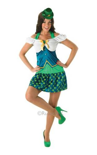 Miss Leprechaun Costume Thumbnail 1