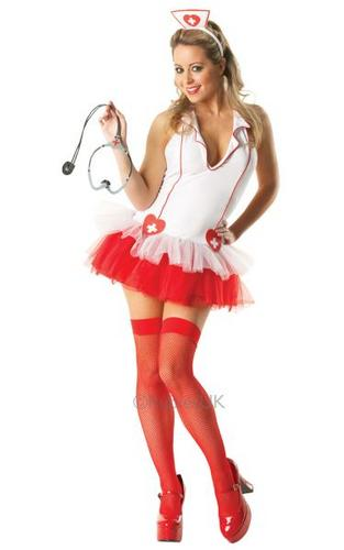 Miss Medic Costume Thumbnail 1
