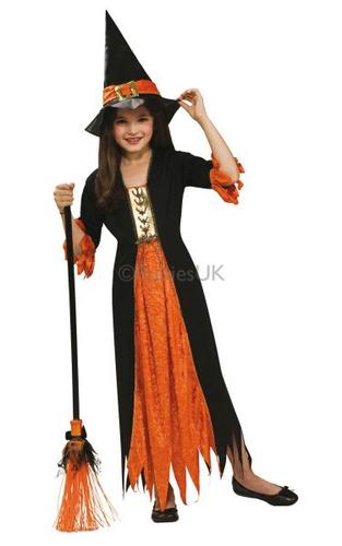 Gothic Witch Fancy Dress Costume Thumbnail 1