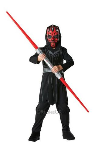 Kids Darth Maul Fancy Dress Costume Thumbnail 1