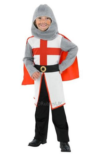 Child St George Knight Costume Thumbnail 1