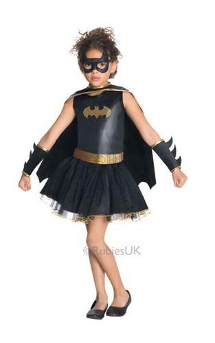 Girls Batgirl Tutu Costume Thumbnail 1