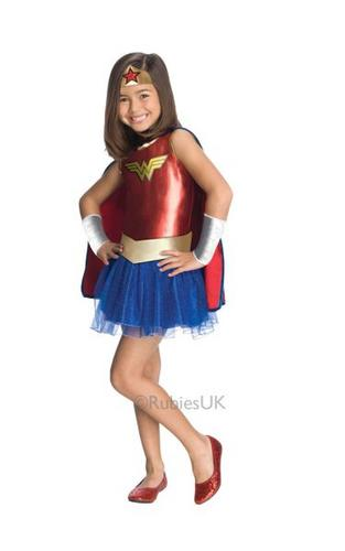 Wonder Woman TuTu Costume Thumbnail 1
